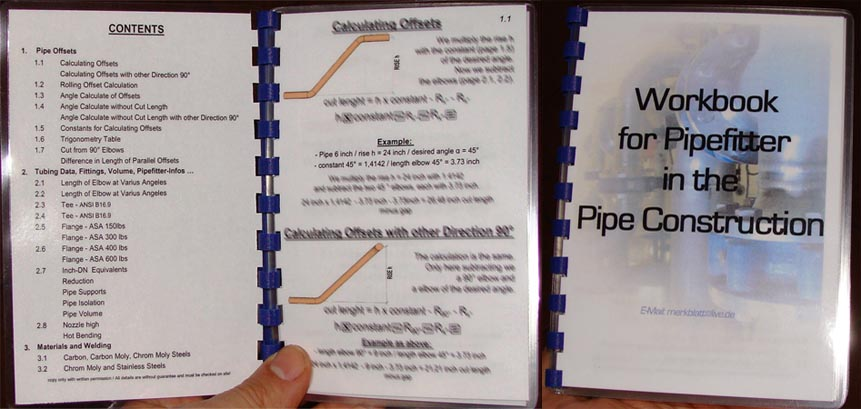 Pipe Fitter Book